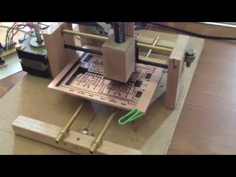 Direct ink to PCB CNC Plotter YouTube Cnc, Diy
