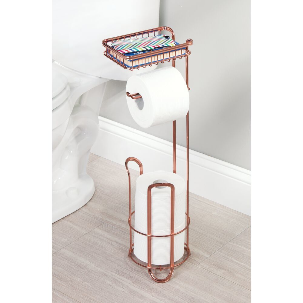 Interdesign Classico Toilet Paper Holder For Bathroom Storage Over The Tank Vertical Chrome Bathroom Toilet Paper Holders Toilet Paper Holder Toilet Paper