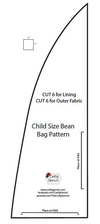 Child Size Bean Bag Chair Diy Video Tutorial Crafty Gemini Diy Bean Bag Chair Bean Bag Pattern Bean Bag Chair Pattern