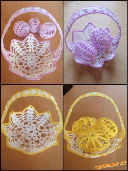 Vyazanye Korzinki I Vazochki Dlya Pashalnyh Yaic Obsuzhdenie Na Liveinternet Rossijskij Servis Onl Holiday Crochet Patterns Easter Crochet Patterns Crochet Vase