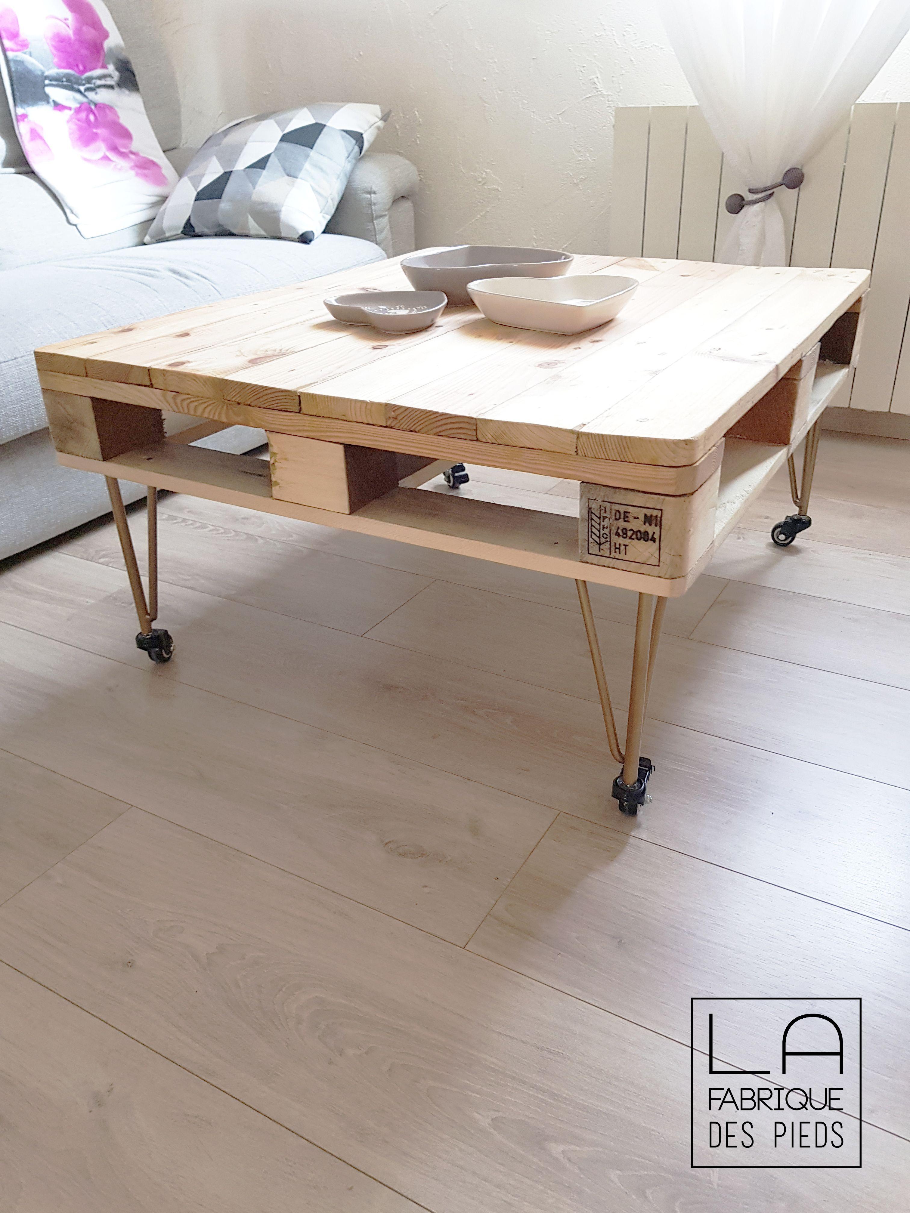 Pied De Table A Roulette 30 Cm En 2020 Table Basse Table Basse