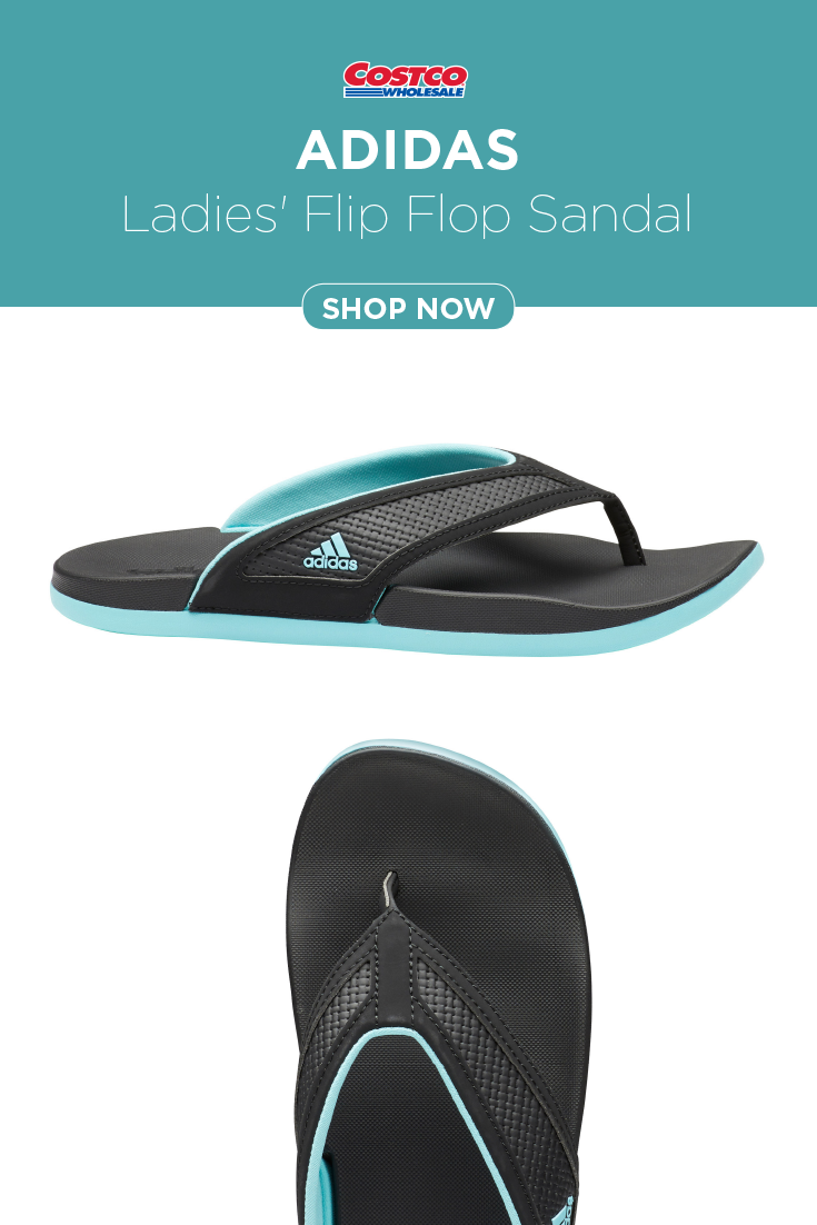 f3c80129d adidas Ladies' Flip Flop Sandal in 2019 | Costco Fashion | Flip flop ...