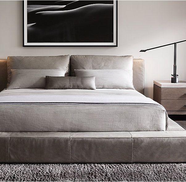 Alpaca Framed Oversized Bed Throw Modern Bed Modern Bedroom