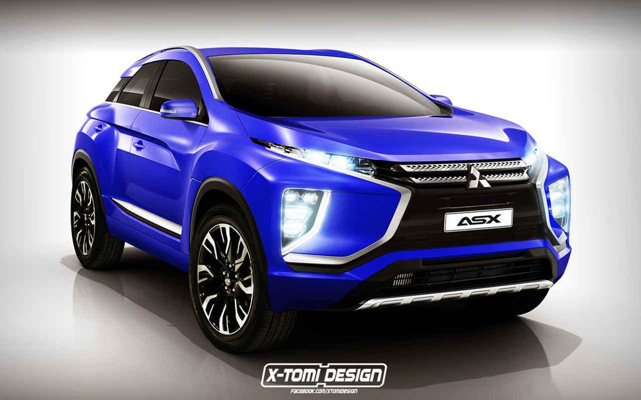 2017 Mitsubishi Asx Australia Rendering Car Models 2017 2018 Mitsubishi Suv Suv Models Mitsubishi