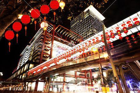 Cenas noturnas da cidade de taipei — Imagem de Stock #16961923