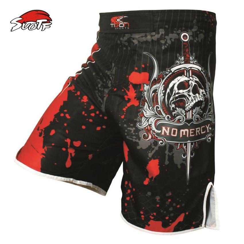 MMA Bad Fighting Boy Shorts Ufc Cage Grappling Muay Thai Kick Boxing Fight Short