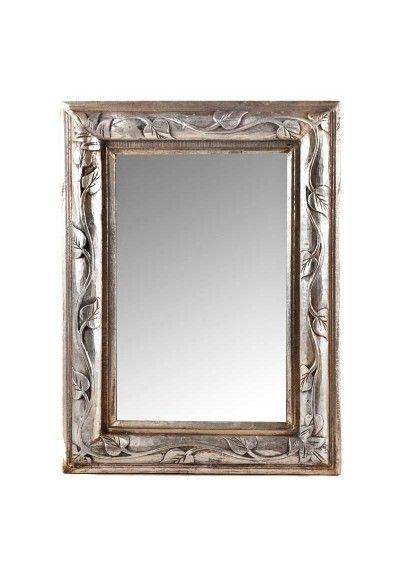 Espejo Con Marco De Madera Tallada Con Dibujo De Hojas Talladas En El Marco Decora Tu Salon Entrada Con Estos Marcos Para Espejos Espejos Espejos De Pared