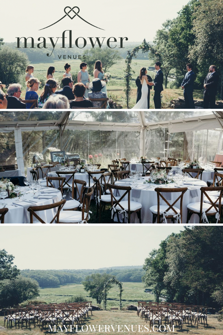 Essex, MA wedding venue called Essex River Estate. A ...