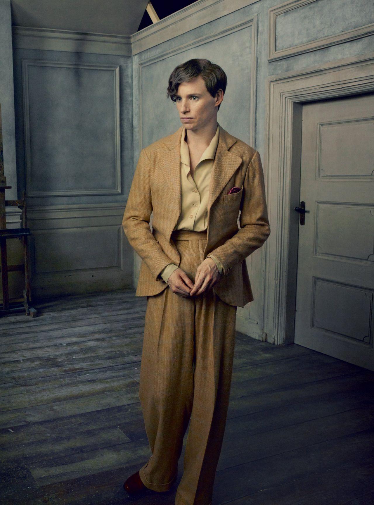 Eddie Redmayne, Vogue, 10/15 by Anne Leibovitz