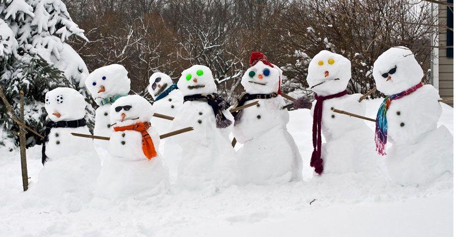 Snowmen clipart - ClipartFest
