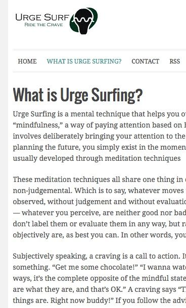 What is urge surfing? MOREu003eu003eu003eu003e Pinned by CamerinRoss - substance abuse counselor resume