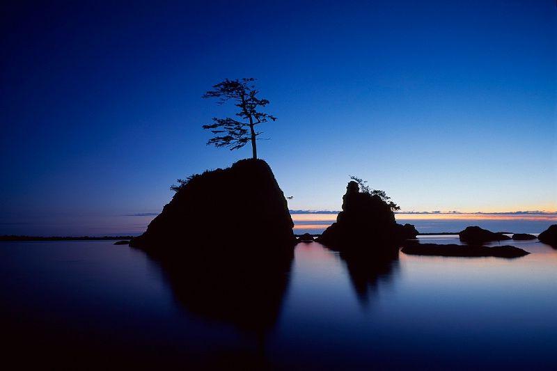 Oregon coast at twilight!