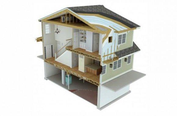 """Conoce la casa """"supereficiente""""."""