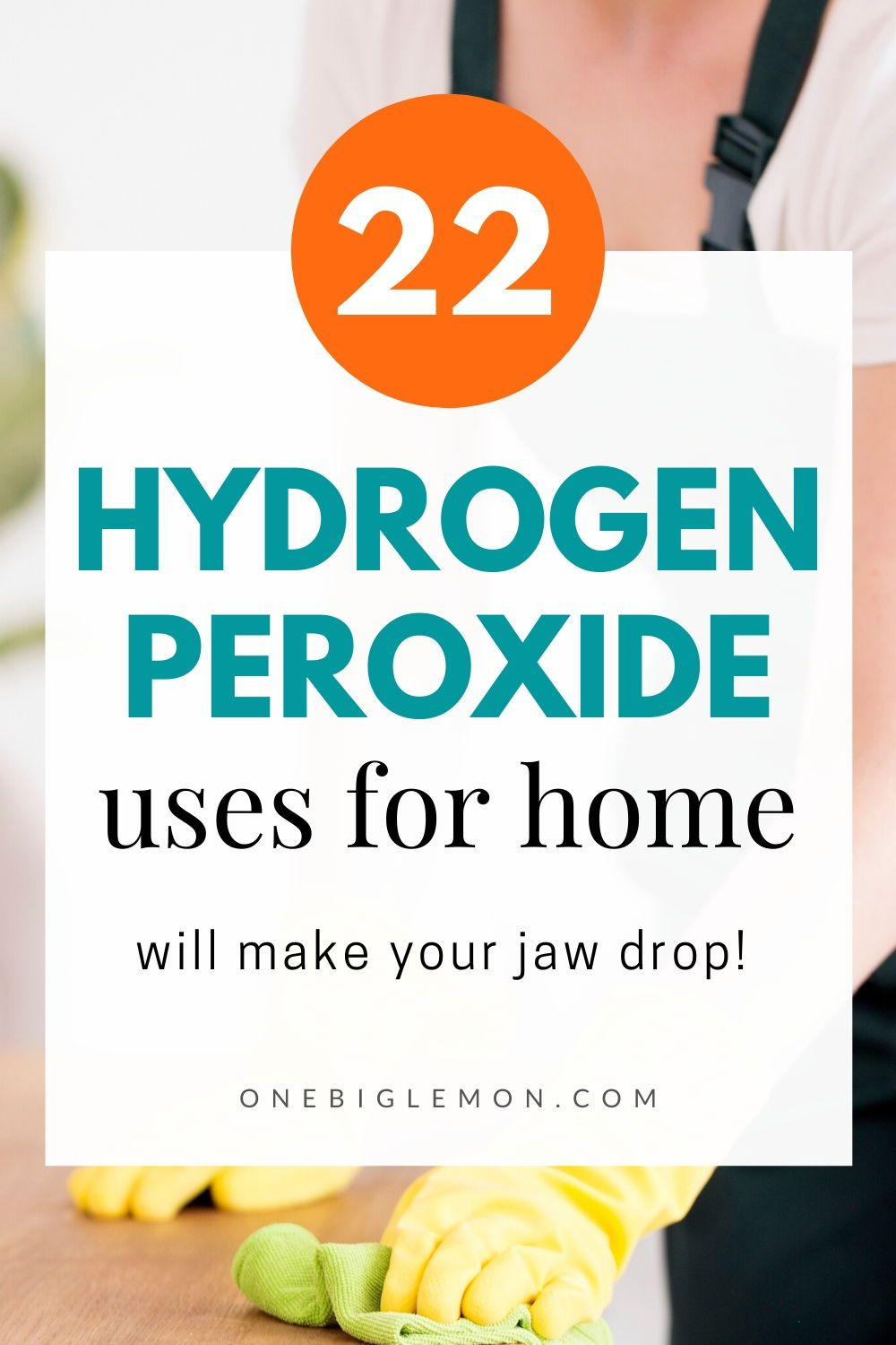 22 genius uses of hydrogen peroxide for your home in 2020