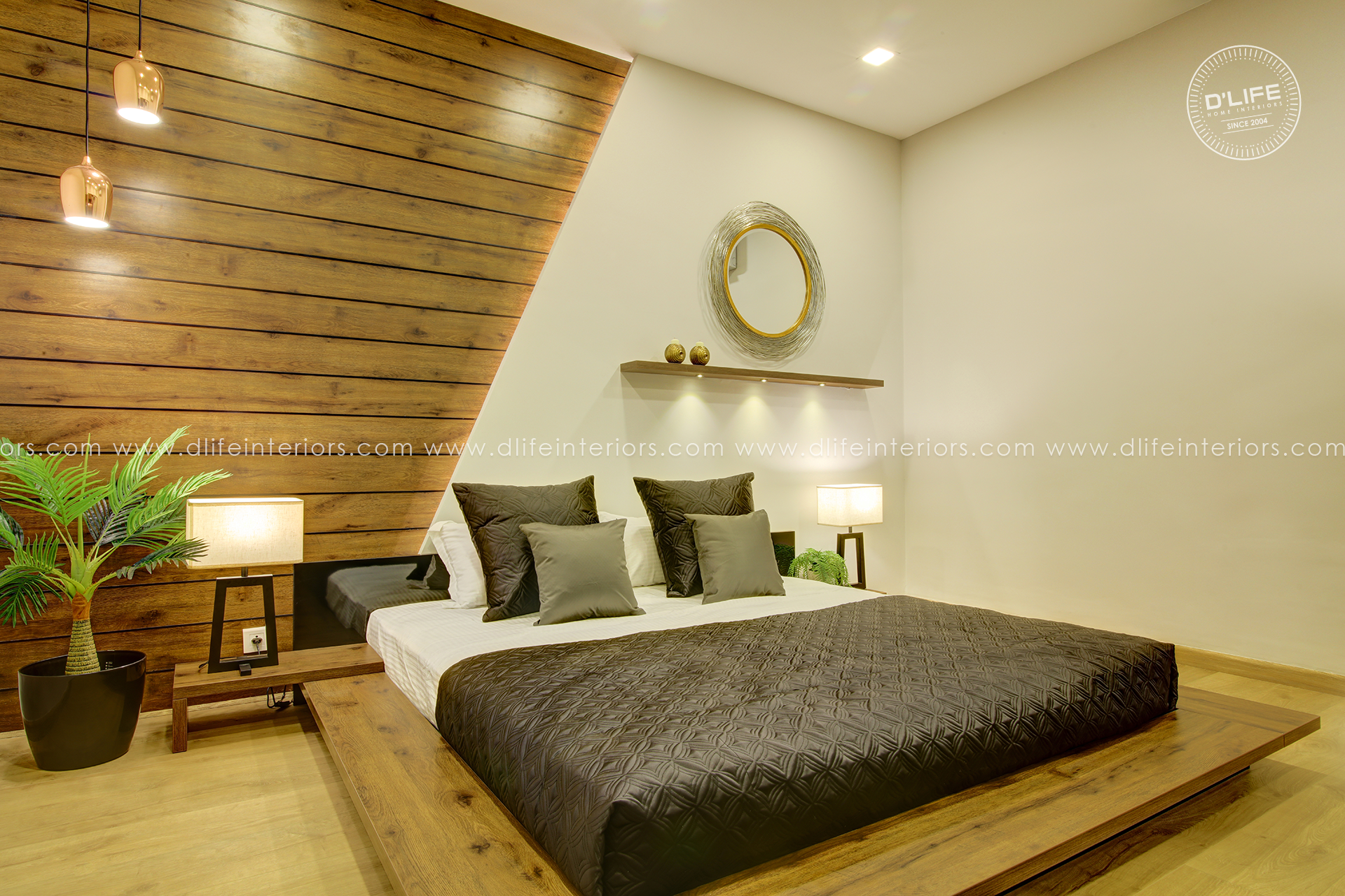 Best Bedroom Interior Design Furnishing Kerala Modern Bedroom 400 x 300