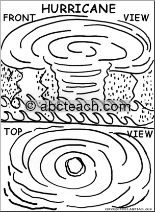 HurricaneColoringPages of 1 coloring page hurricane