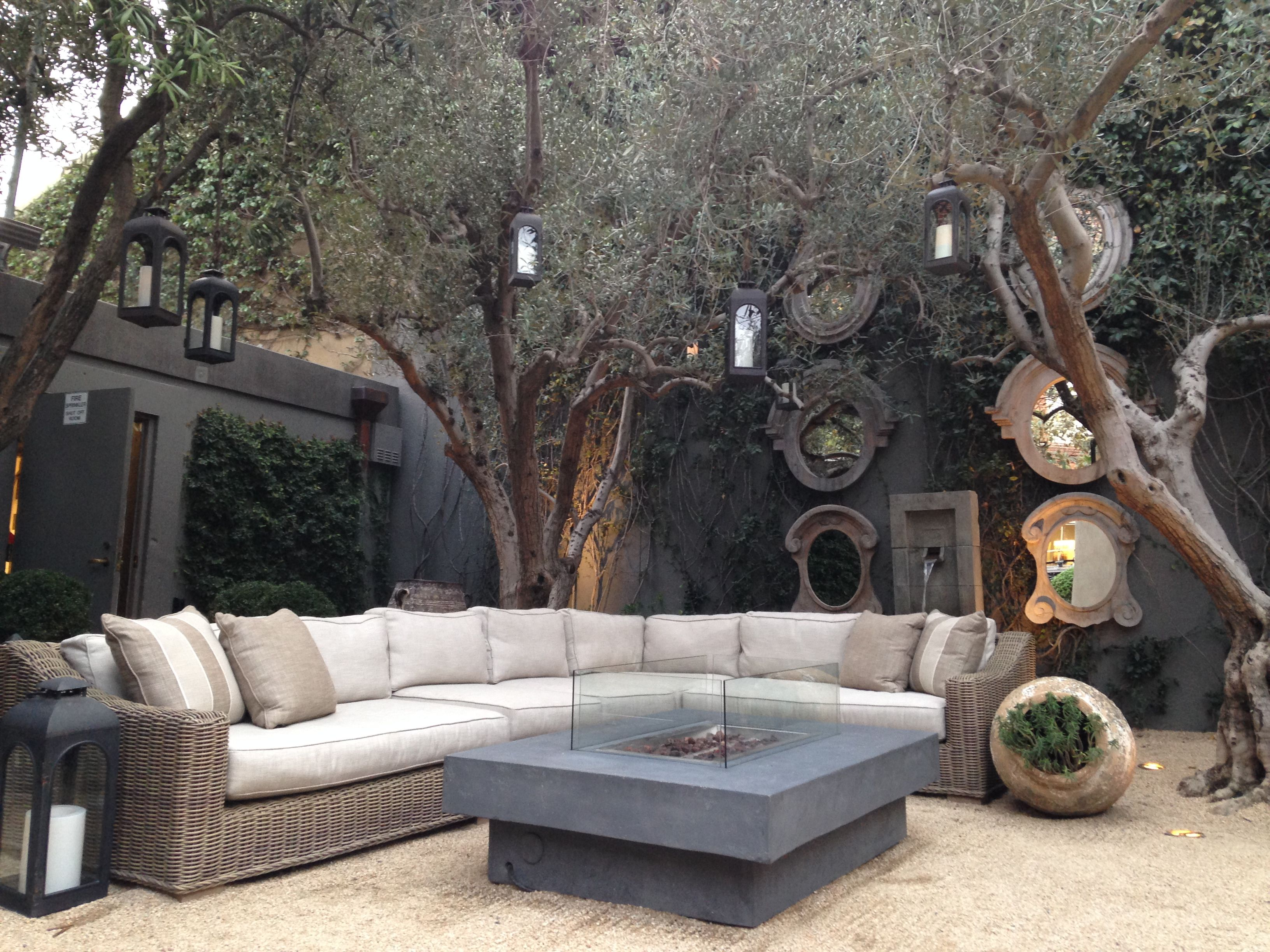 Restoration Hardware Outdoor Furniture Olive Trees Restoration