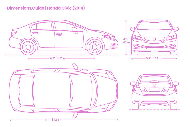 Honda Civic 2014 Tesla Model X Audi Tt Honda Civic 2014