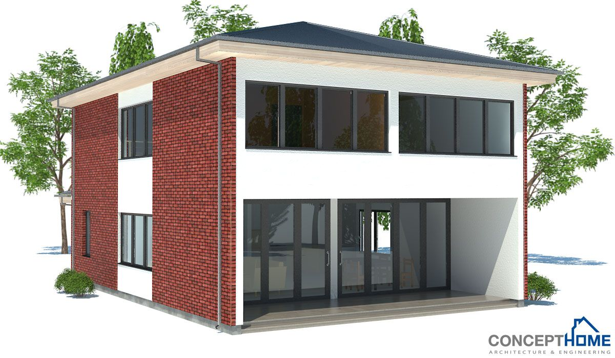 Affordable Home Ch191 Inexpensive House Plans Affordable House Plans House Construction Plan