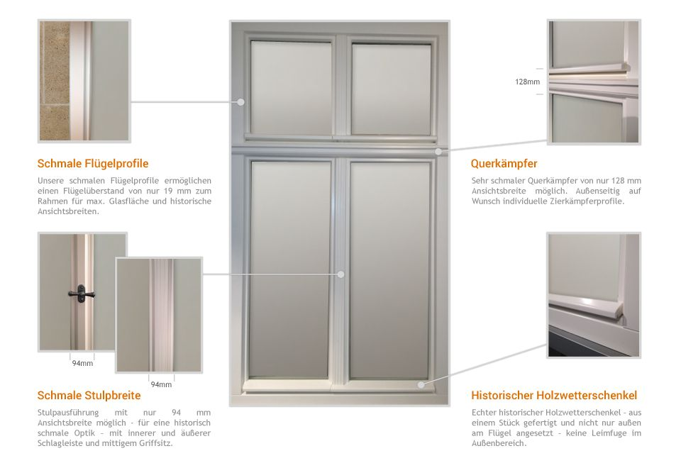 denkmalschutzfenster details reheuser fensterbau kg. Black Bedroom Furniture Sets. Home Design Ideas