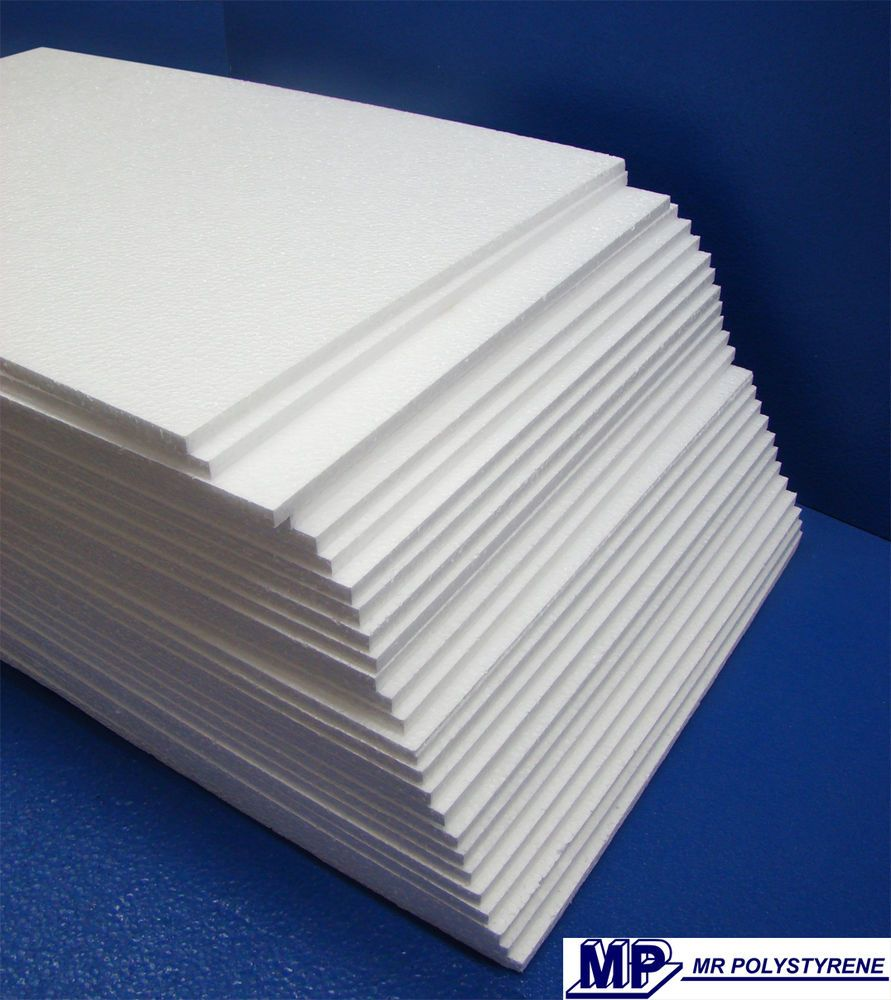 Details About Expanded Polystyrene Sheets Foam Packing