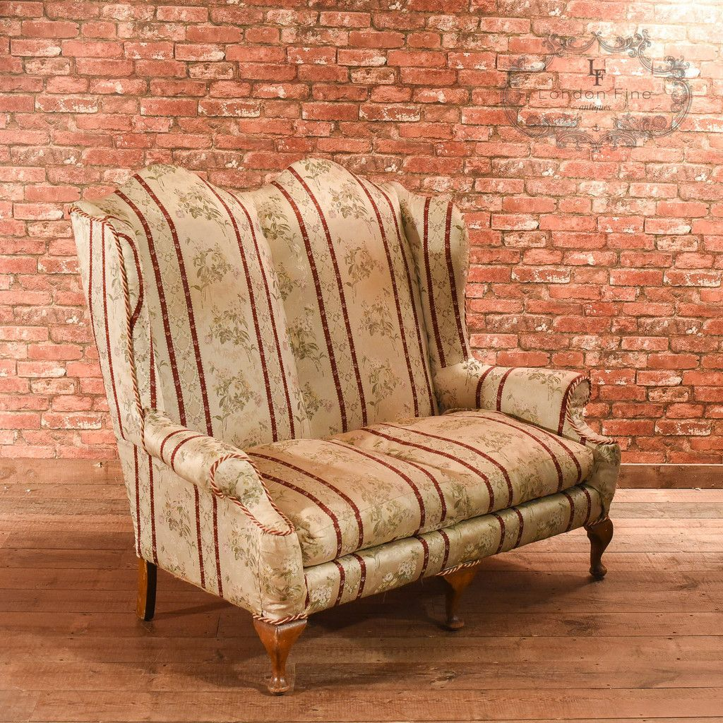 2 Seater Sofa In A Queen Anne Style C 1900
