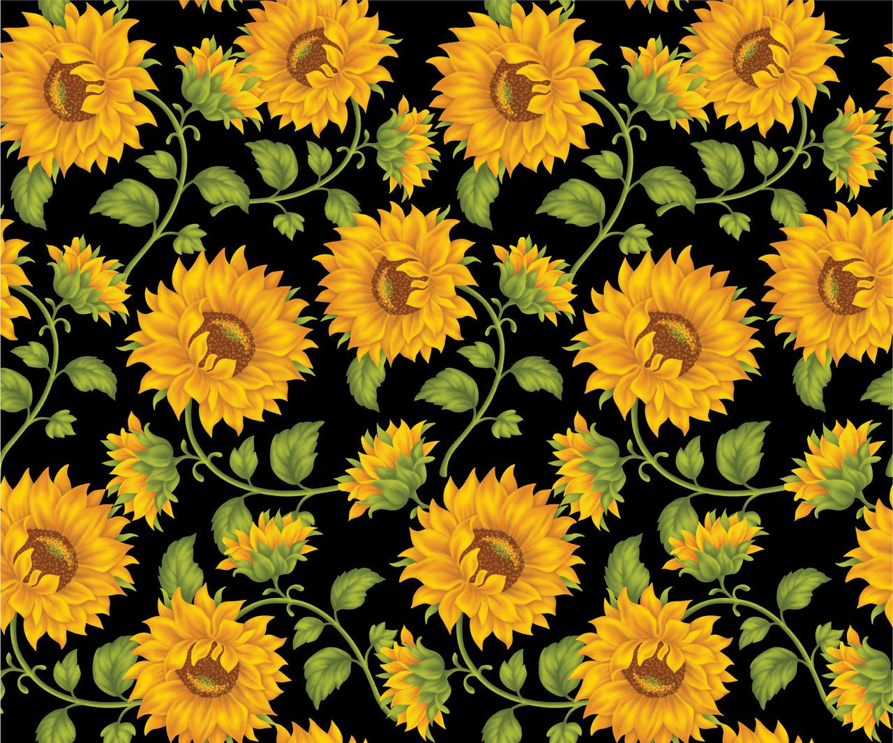 Desktop Wallpaper 4u2 Sunflower Tumblr Hd Desktop Wallpaper Sunflower Wallpaper Black Background Wallpaper Sunflowers Background