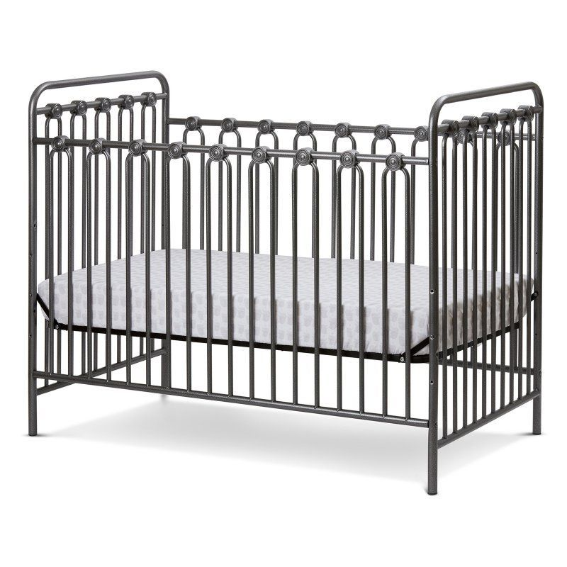 LA Baby Napa 3-in-1 Convertible Crib Pebble Grey - FCS-94559-PG ...