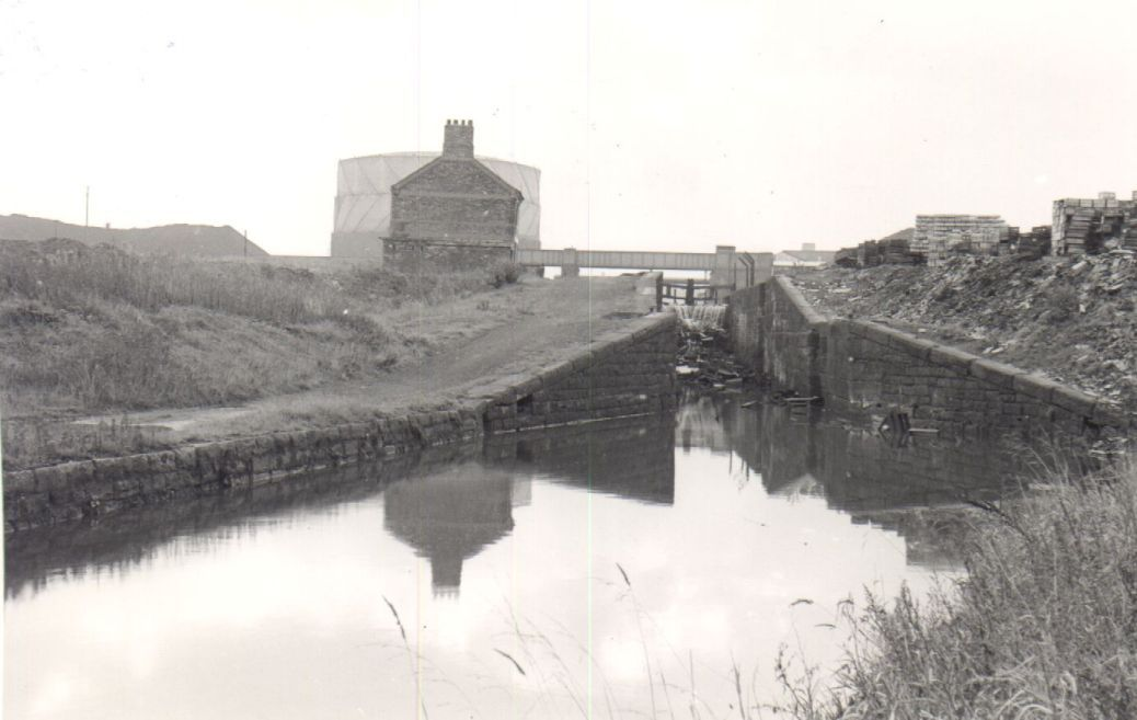 The Sankey Canal can boast the first set of staircase, or double - double first