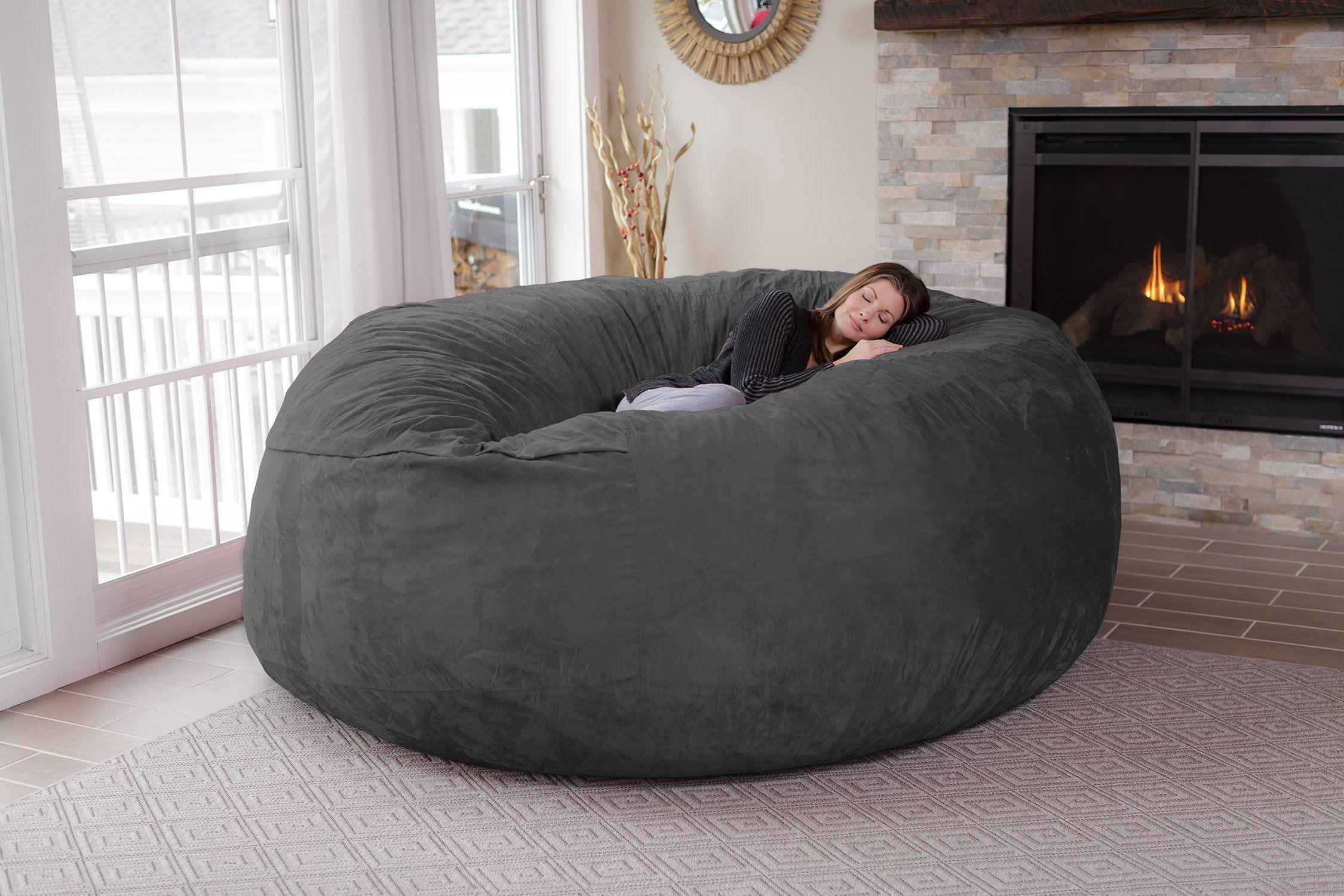 Chill Sack Chill Bag Bean Bags Bean Bag Chair Giant Memory Foam Furniture Bean Bag Big Sofa With Soft Mi Bean Bag Chair Giant Bean Bags Giant Bean Bag Chair