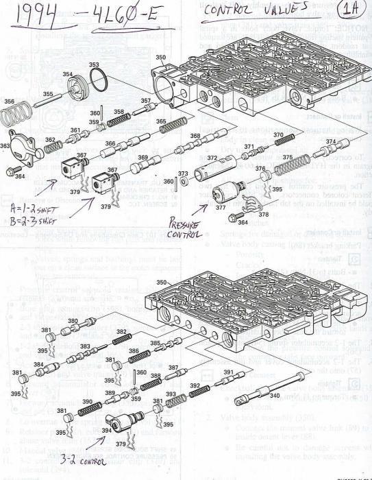 2000 chevrolet suburban parts list