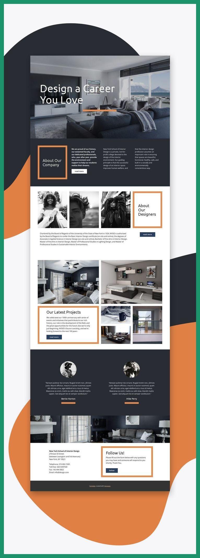 Web Design Mobile Interior Web Template Web Design Tutorial Website Templates Simple Web Design Web Layout Design Interior Design Website