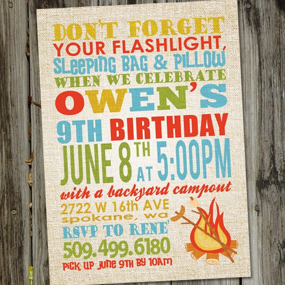 Camping invitation camping invitations campout party campout camping invitation camping invitations campout party campout birthday campout birthday invitation camping birthday printable filmwisefo Image collections