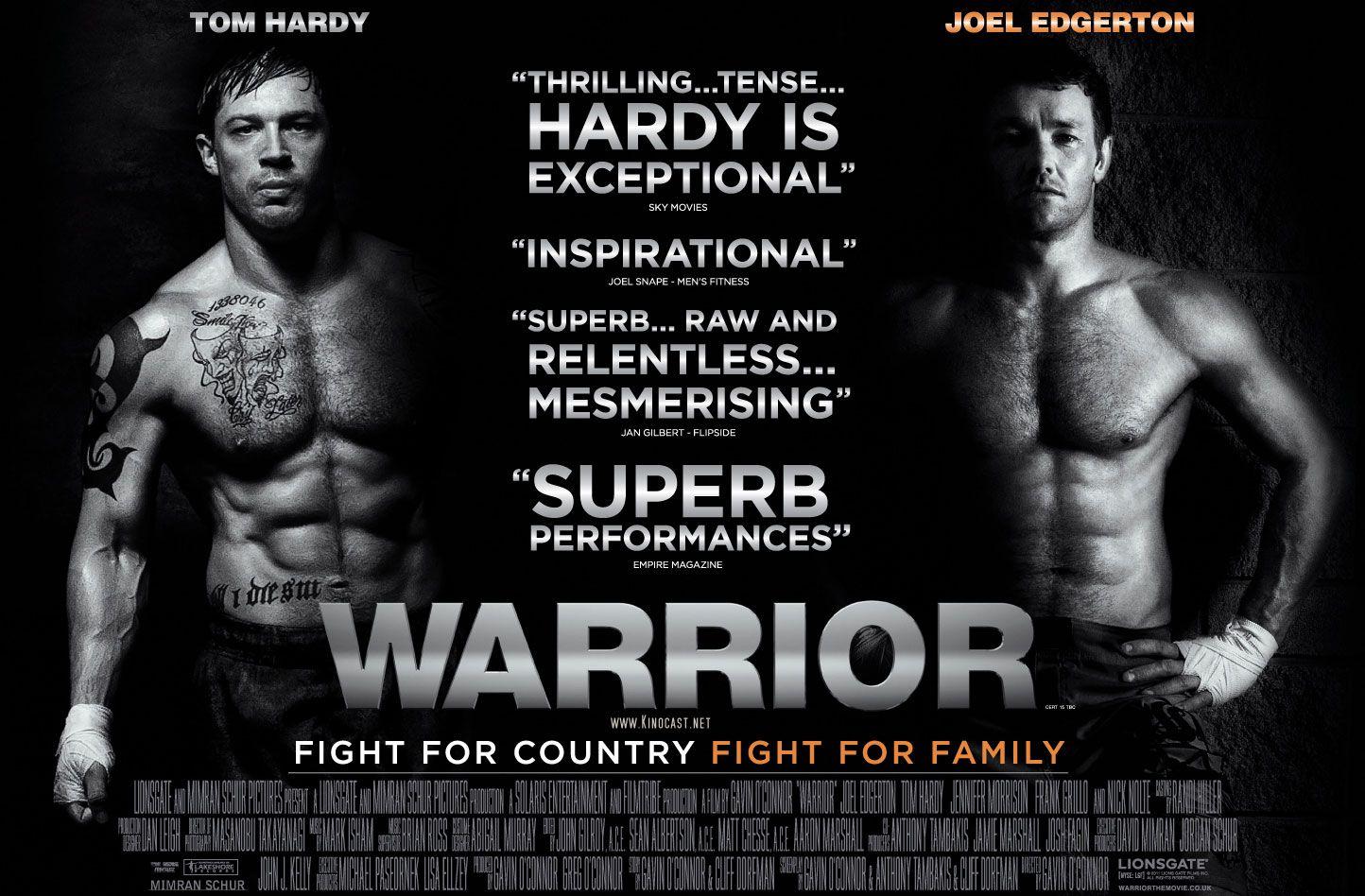 Warrior | Warrior movie, Tom hardy, Sports movie