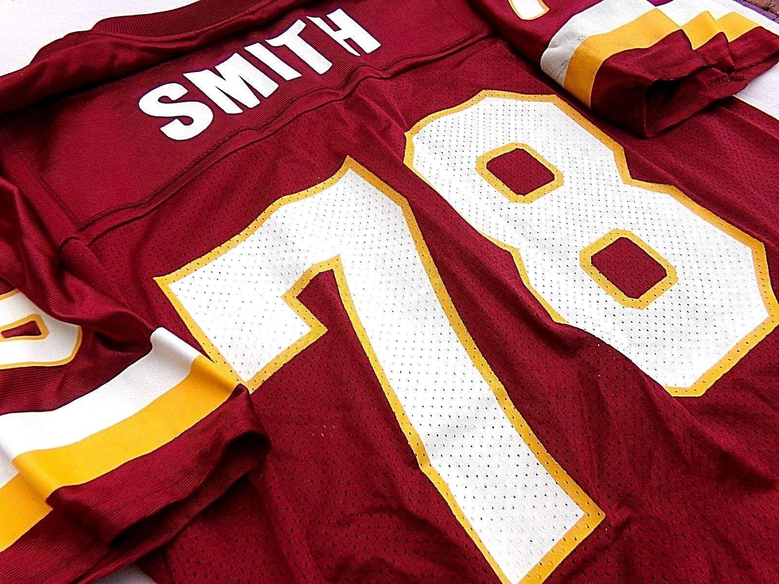 sale retailer 19f36 c7113 HOF Bruce Smith Washington Redskins NFL Sack Leader Reebok ...