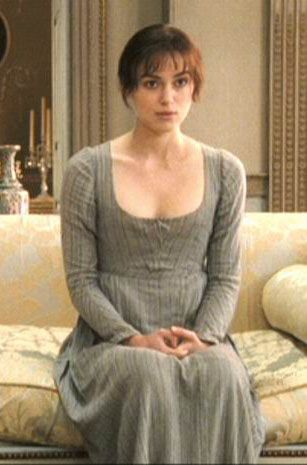 Keira Knightley (Elizabeth Bennet) -Pride & Prejudice (2005) directed by Joe Wright #janeausten