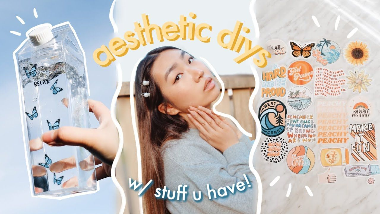 aesthetic diys w stuff u have at home (proceeds donated to ...