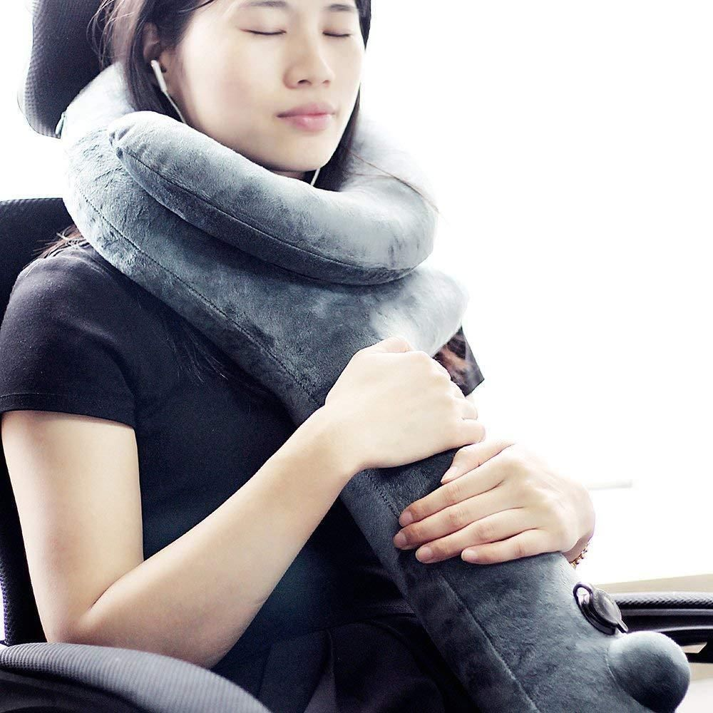 travel pillow neck chin support pillow