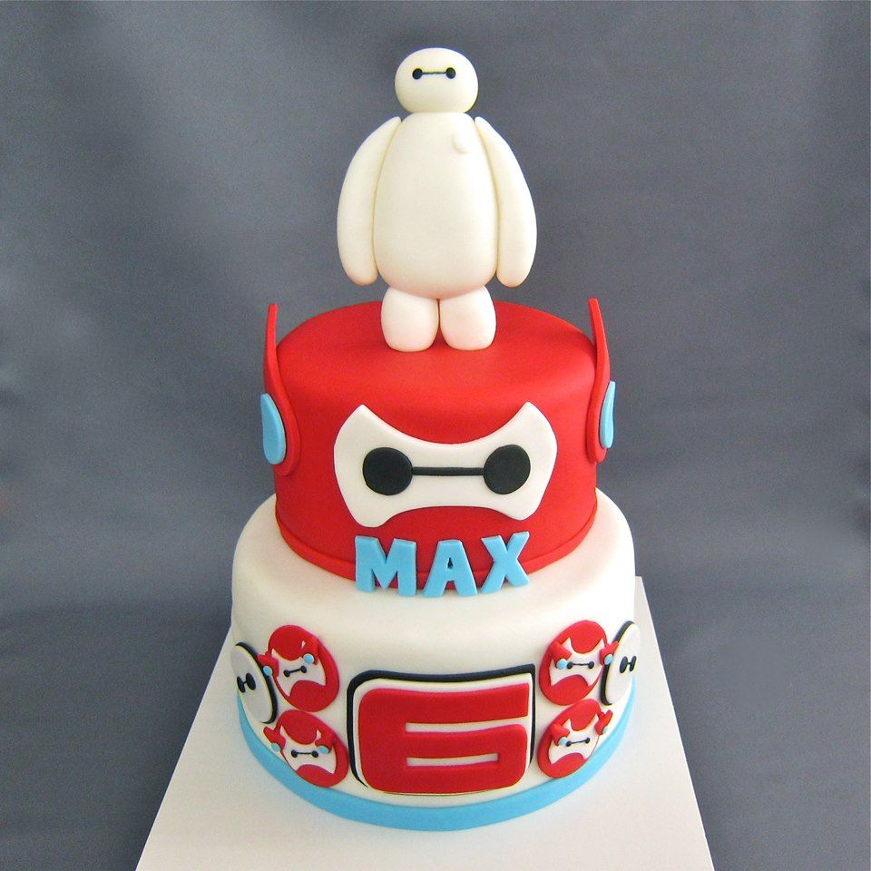 Big Hero 6 Inspired Cake For All Your Cake Decorating Supplies