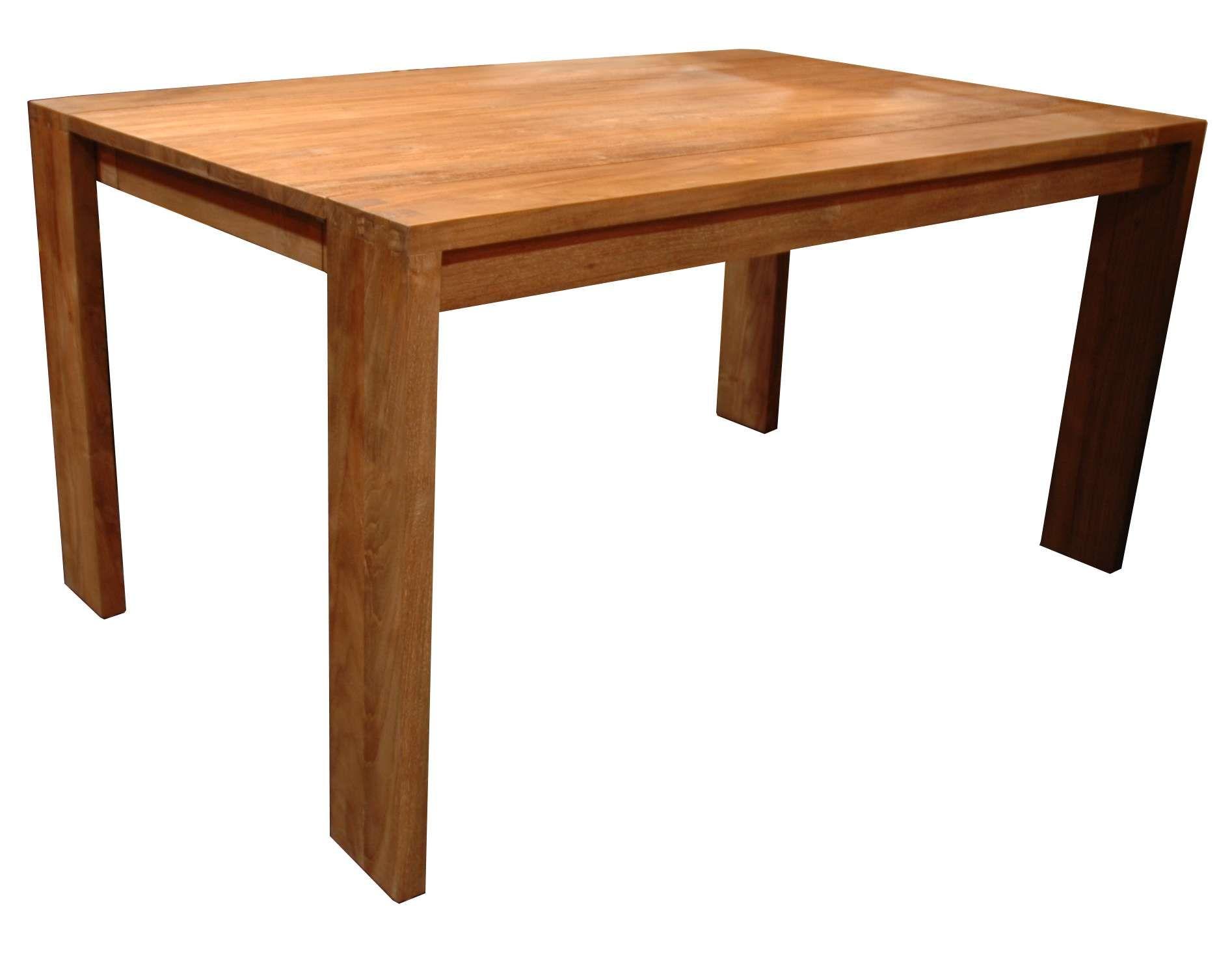 Table Rectangulaire Bois Kaolin Boutique Kaonline Fr Mobilier  # Table Television En Bois De Sapin