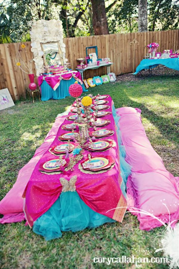 Fairy Themed Sisters Birthday Party