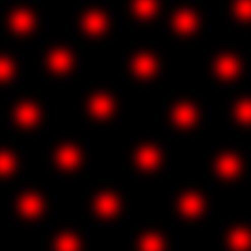 Aqui te dejo un fondo con puntos rojos
