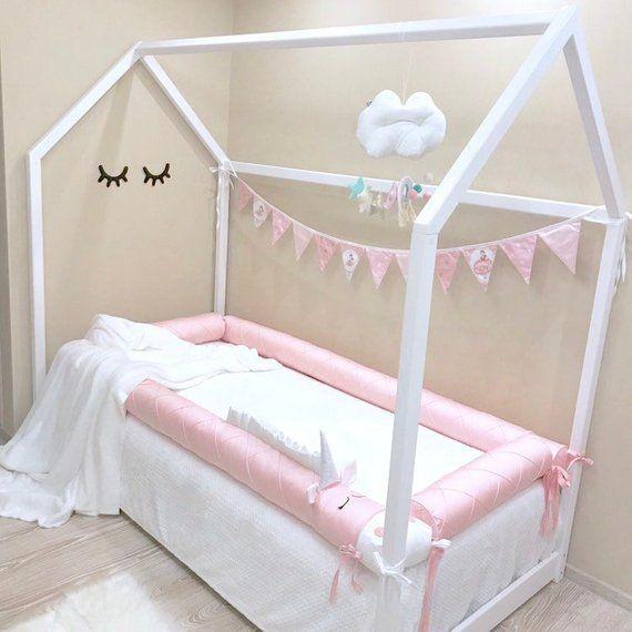 Montessori Bed Bumpers Montessori Floor Bed Unicorn Girls