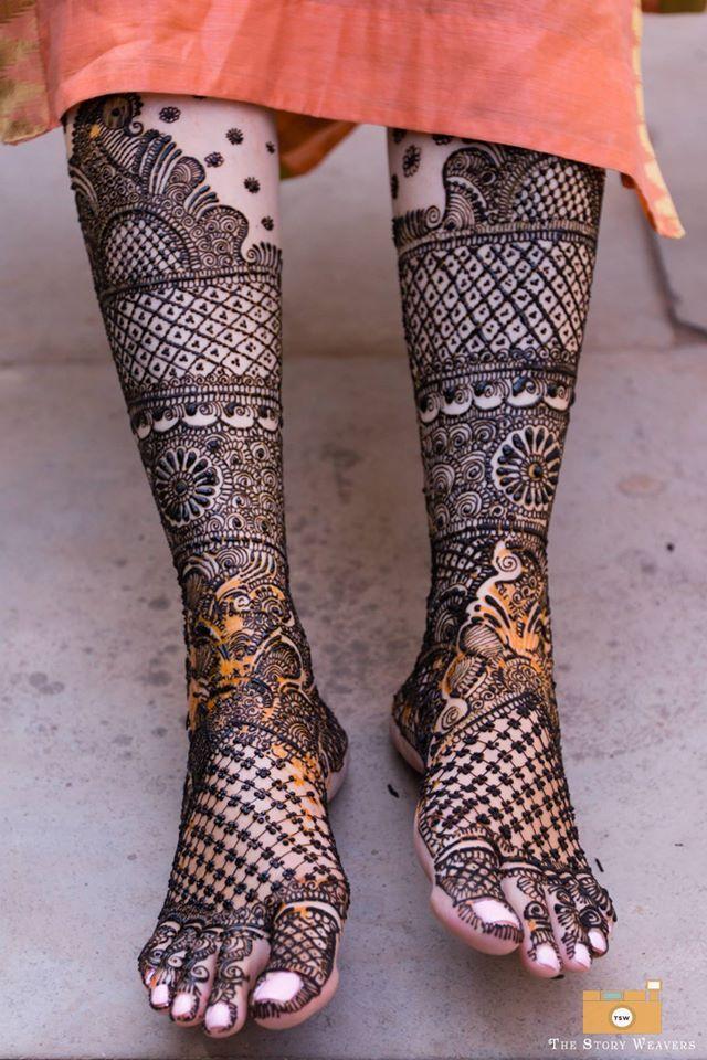 Mehndi Bridal Foot : Bridal feet henna or mehndi designs beautiful mehendi