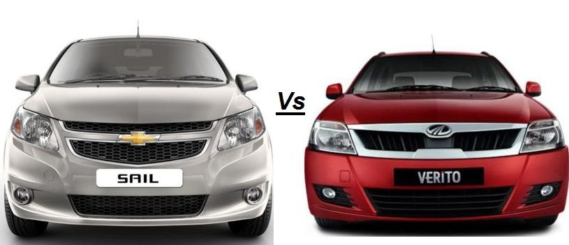Chevrolet Sail Sedan Vs Mahindraverito Which Brand Will