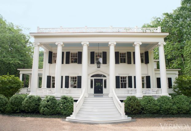 Historic Virgina Home Restored By Allan Greenberg With Interiors Designed By Amelia Handegan Greek Revival Home Colonial House Greek Revival Architecture
