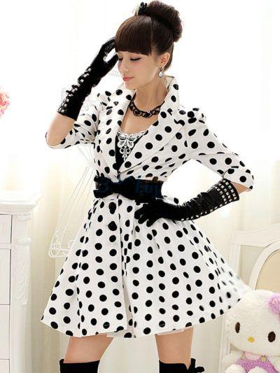 5146c6f7c0f5 vestidos de bolas anos 60 modelo com mangas | *LOVE Me Some Polka ...