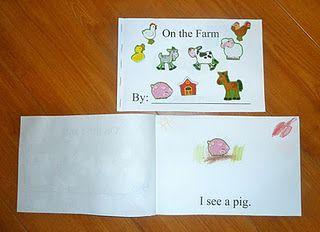"""""""On the Farm"""" Mini Book"""