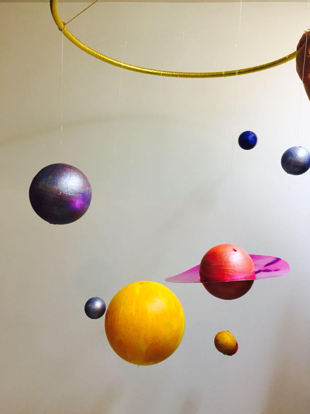 Móvil Sistema Solar Sistema Solar Movil Sistema Solar Educacion Infantil