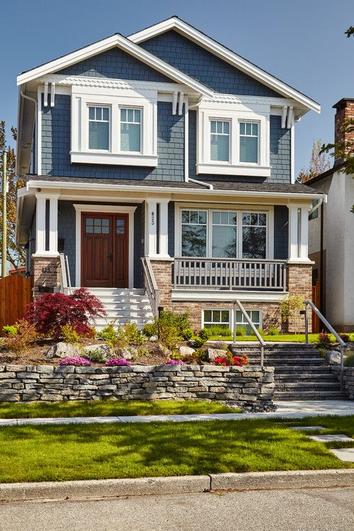 Beautiful Exterior Home Design Trends: Beautiful Coastal & Blue Exteriors